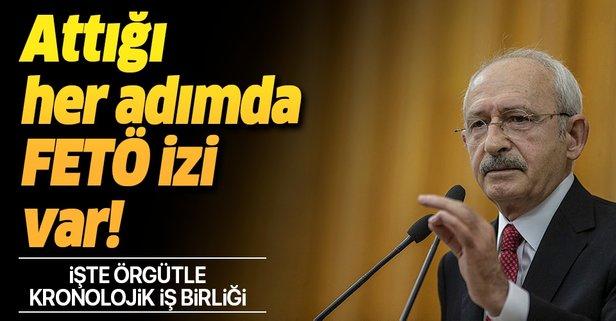 İşte Kılıçdaroğlu'nun FETÖ ile kronolojik iş birliği