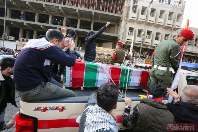 Trump'ın emriyle öldürülen Süleymani'nin cenazesinden ilk kareler! ABD detayı dikkat çekti
