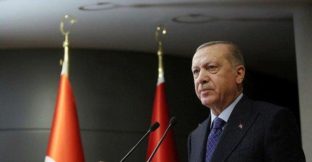 Erdoğan'den İdlib şehidinin ailesine başsağlığı mesajı