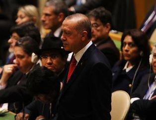 Başkan Erdoğan BM Genel Kurulunda