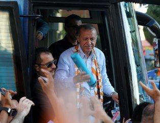 Adım adım 24 Haziran'a! Adana AK Parti mitinginden kareler