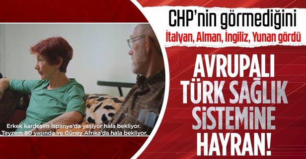 Türkiye'nin sağlık sistemine hayran kaldılar