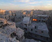 Halep'te insanlık ölüyor!