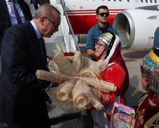 Başkan Erdoğan Kayseri'de sevgi seliyle karşılandı