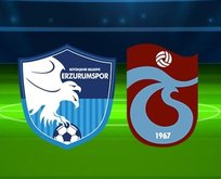 Trabzonspor'un Erzurumspor 11'i belli oldu