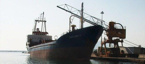 Libya açıklarında Türk gemisi battı