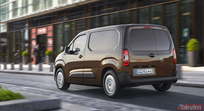 Opel hafif ticari araç B segmenti üyesi olan Combo ile Türkiyede