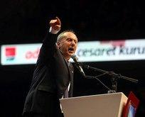 Muharrem İnce Kılıçdaroğlu'nu topa tuttu!