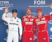 Ferrari 9 yıl aradan sonra ilk iki sırada!