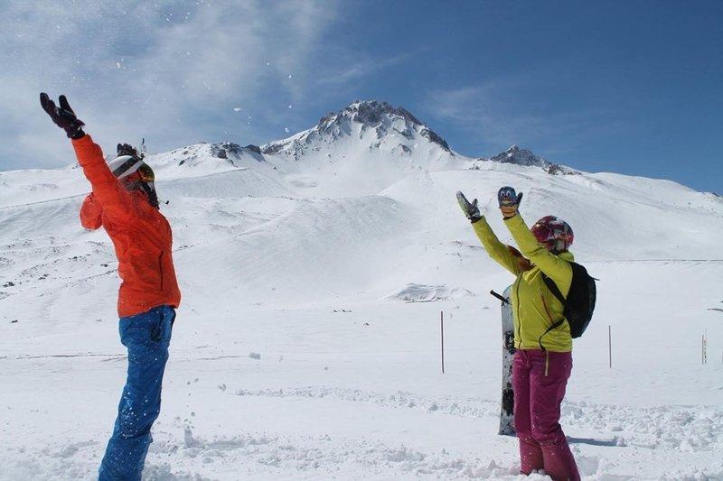 Türkiye'nin tüm dağları kayak pisti oluyor