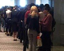 7500 TL maaşı duyan yüzlerce kişi sıraya girdi!