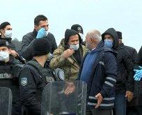 İstanbul'da koronavirüs mezarlığı gerginliği