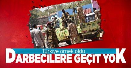 Sudan'da darbe girişimi kontrol altına alındı