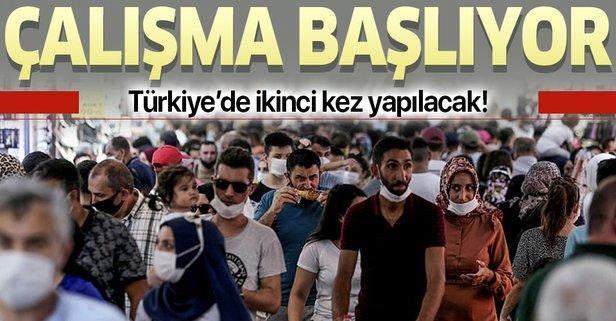 Türkiye'de ikinci kez yapılacak! Çalışmalar başlıyor