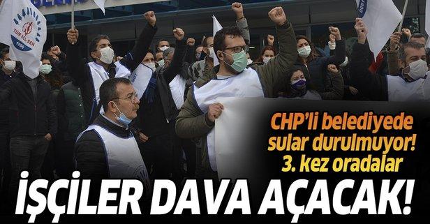 CHP'li belediyede memurlar isyanda!