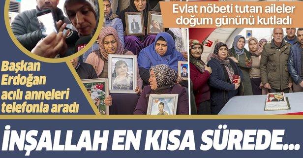 Diyarbakır anneleri Başkan'ın doğum gününü kutladı