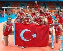 Ay-Yıldızlı kızlar Avrupa Şampiyonası'nda finalde