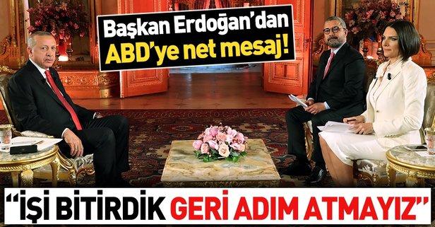 Başkan Erdoğan canlı yayında soruları yanıtladı