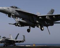 ABD savaş uçağı düştü