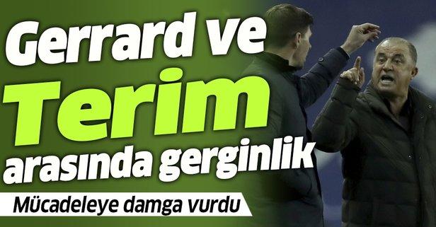 Terim ve Gerrard arasında gerginlik!