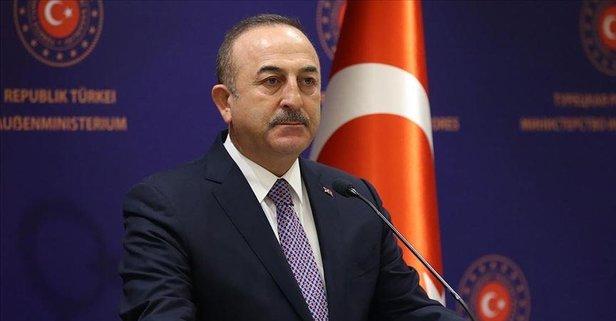 Çavuşoğlu'ndan Türkmen gazı açıklaması