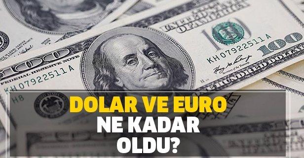 Dolar ve euroda düşüş sürüyor! İşte döviz kurları