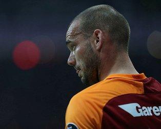 Wesley Sneijder Türkiye'ye geri dönüyor