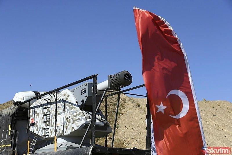 Suriye harekatı Barış Pınarı operasyonu kullanılan yerli ve milli silahlar hangileri?