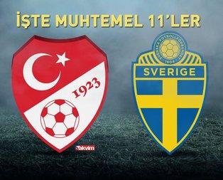Türkiye - İsveç maçı hangi kanalda?