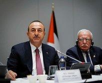Çavuşoğlu'ndan flaş İran ve Kudüs açıklaması