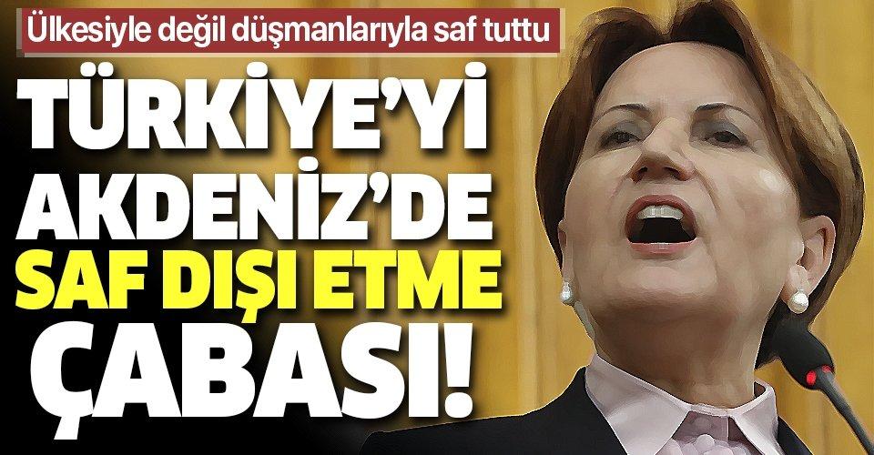 İYİ Parti'den Libya tezkeresine hayır oyu kararı! Türkiye'yi Akdeniz'den dışlamak isteyenlerle bir oldular