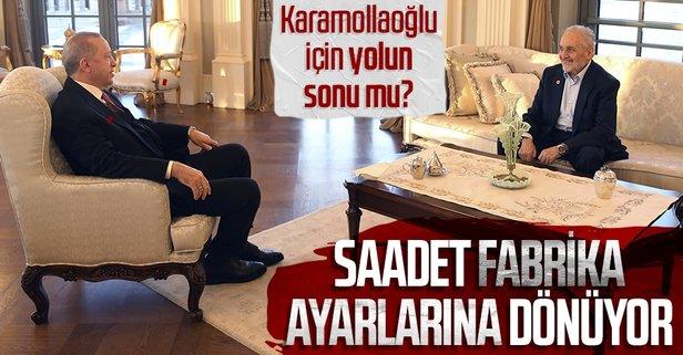 Saadet'te Karamollaoğlu'nun tasfiyesi başladı