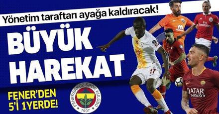 Ndiaye, Kolarov, Fejsa, Mahmut ve Deniz Türüç de Fenerbahçe yolunda