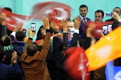 Şırnak'ta Erdoğan'a görkemli karşılama