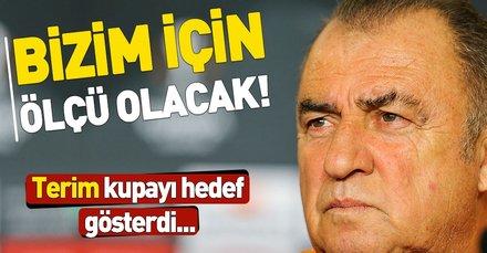 Fatih Terim, Benfica maçı öncesi net konuştu: Bizim için ölçü olacak