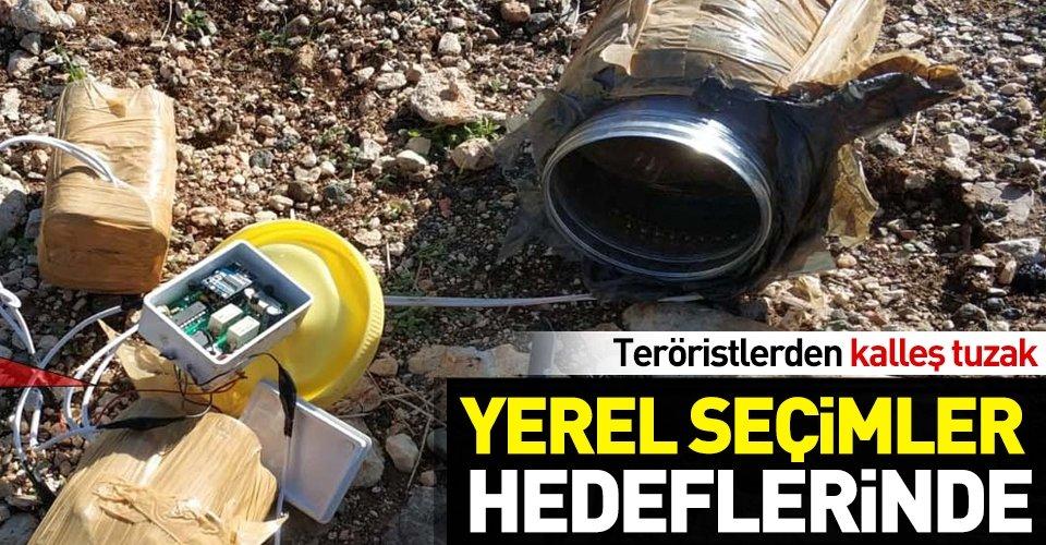 Diyarbakırda PKKdan hain tuzak