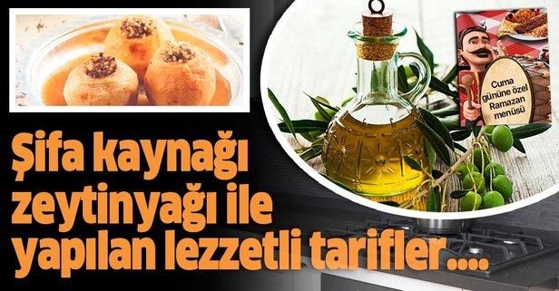 Şifa kaynağı: Zeytinyağı