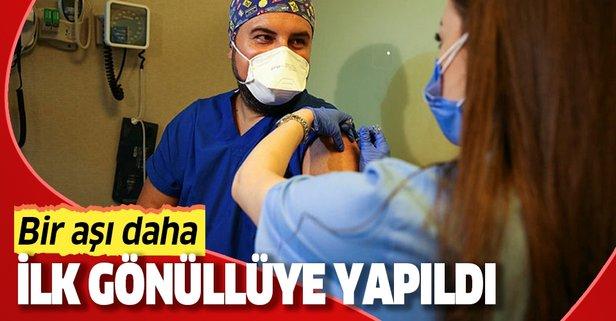Bir aşının daha Türkiye'de ilk uygulaması yapıldı