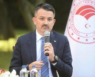 Tarım ve Orman Bakanı Bekir Pakdemirli:  66 bin yeni istihdam oluşturduk