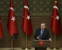 Erdoğan: Temenni ederikm ki Afrin akşama kadar düşmüş olur