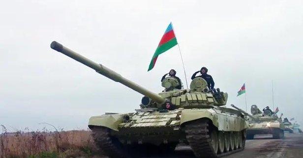 Azeri ordusu Kelbecer'de