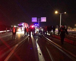 Konya'da feci kaza! 2 kişi hayatını kaybetti