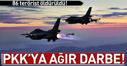 Son dakika: PKK'ya darbe üstüne darbe!