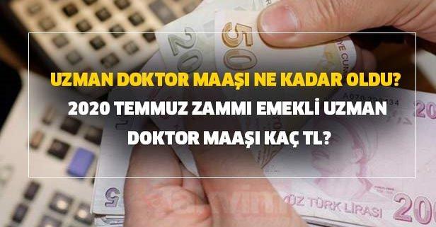 Uzman doktor maaşı ne kadar oldu?