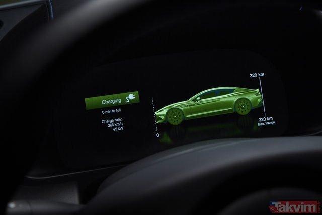 Dünya devinin ilk elektrikli modeli üretime hazır! İşte Aston Martin Rapide E... (En az yakan dizel otomobiller)
