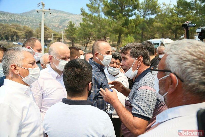 Antalya Manavgat'taki yangında alevlerin arasında kalıp can veren kardeşler Osman ve Şehri Kardaş toprağa verildi