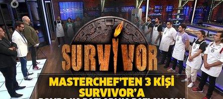 Masterchef'ten Survivor tam 3 bomba yarışmacı yolcu!