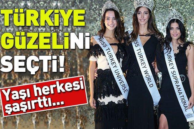 19 yaşında Miss Turkey 2018 birincisi oldu!