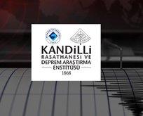 Deprem mi oldu? Kandilli Rasathanesi son depremler listesi!