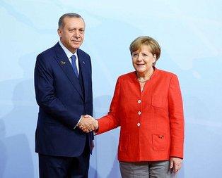 Son dakika... Merkelden Erdoğanın da yer alacağı dörtlü zirve açıklaması!